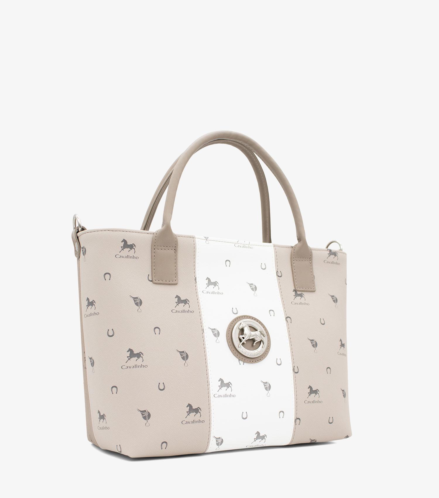 Stone Grey Handbag