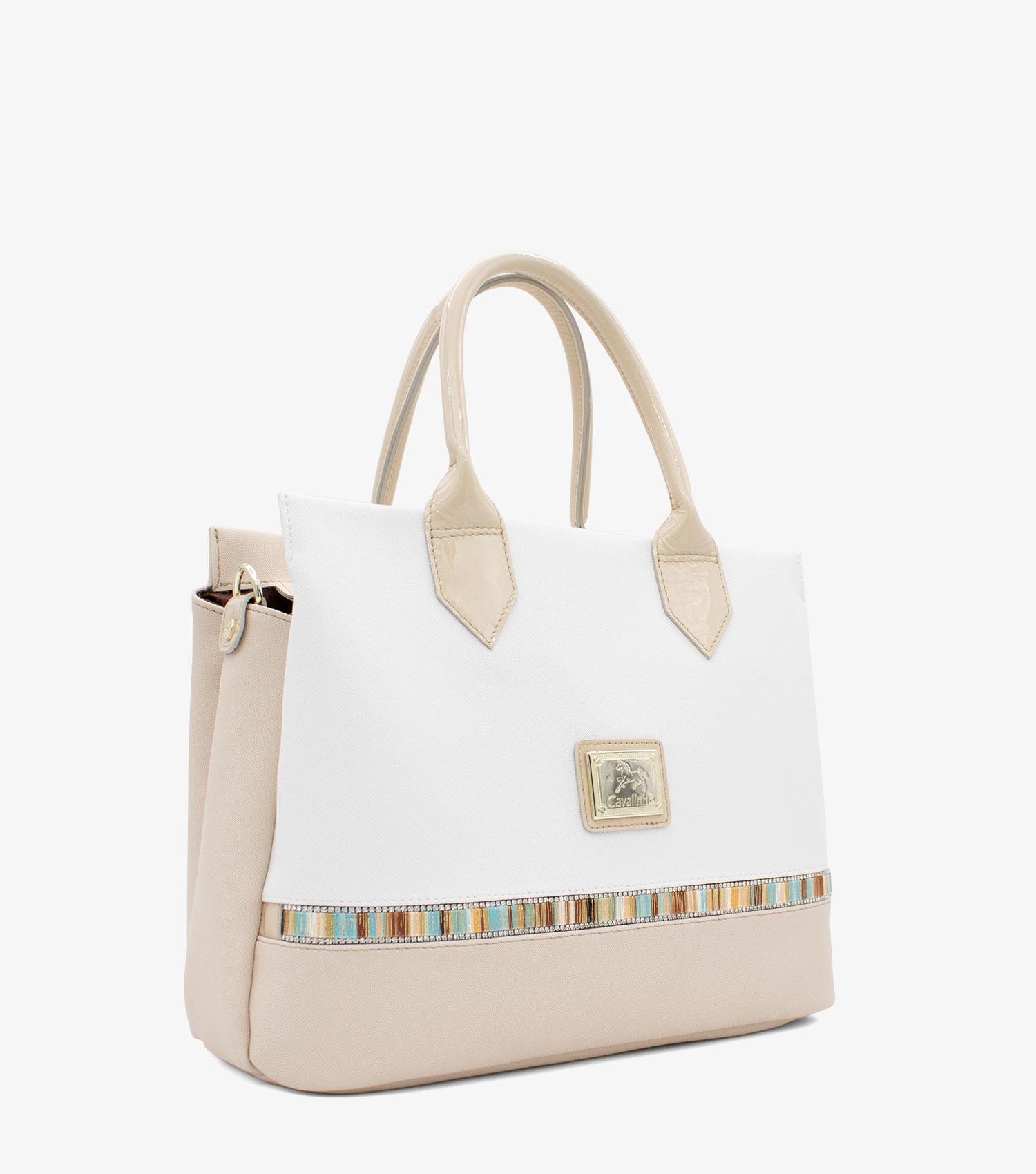 Crystal Line Handbag