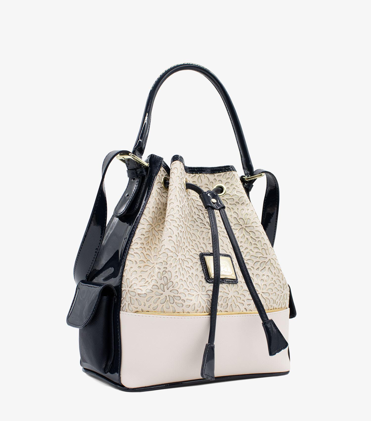 Cavalinho Gold Drawstring Bag