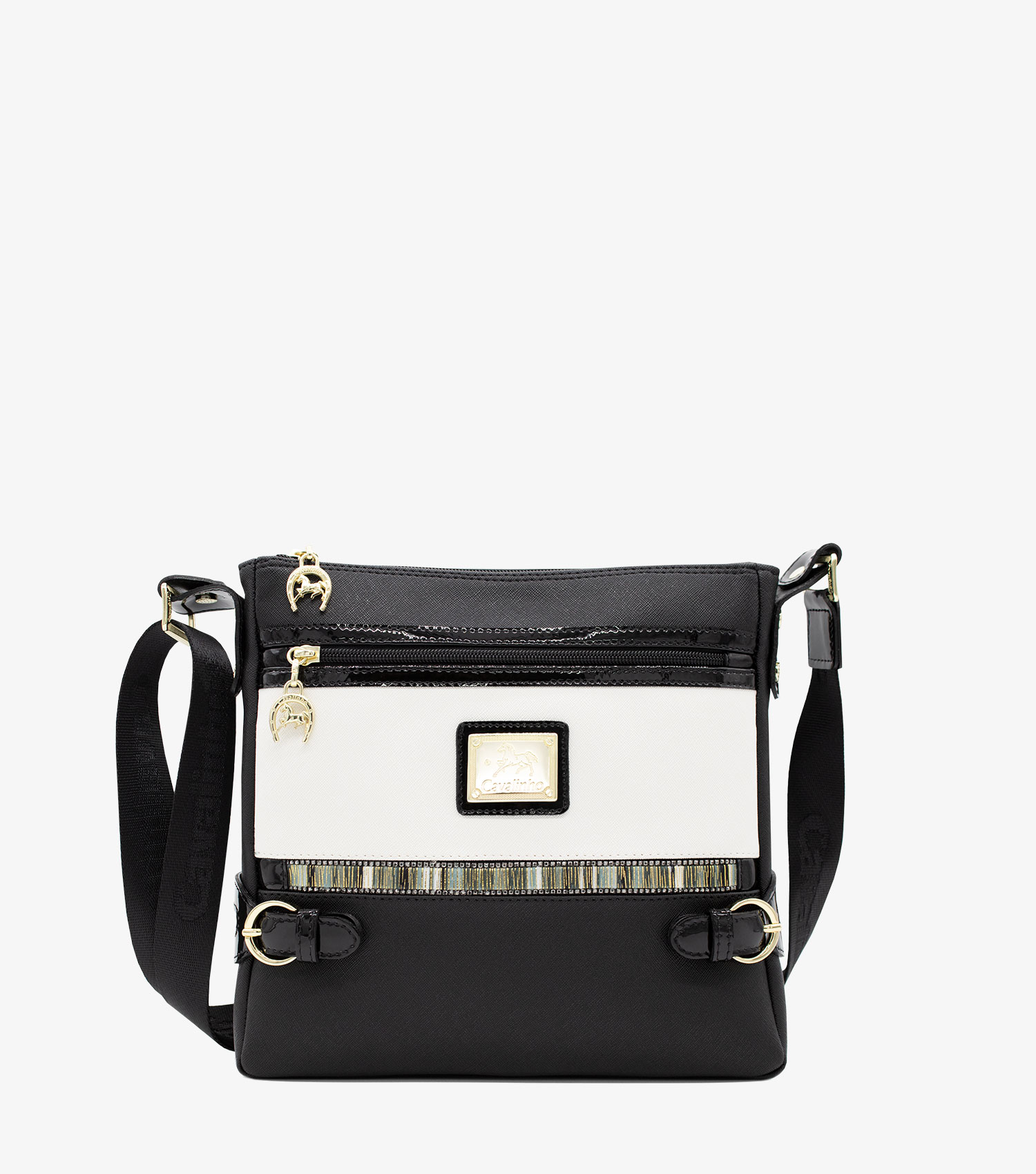 Crystal Line Cross-Body Bag