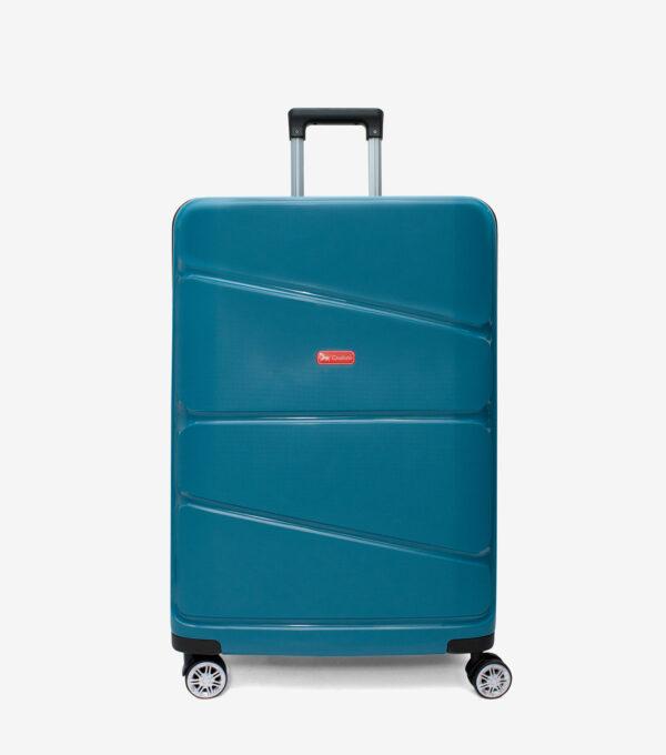 Gold Travel Wheeled Suitcase